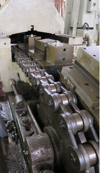 continuous chain broaching